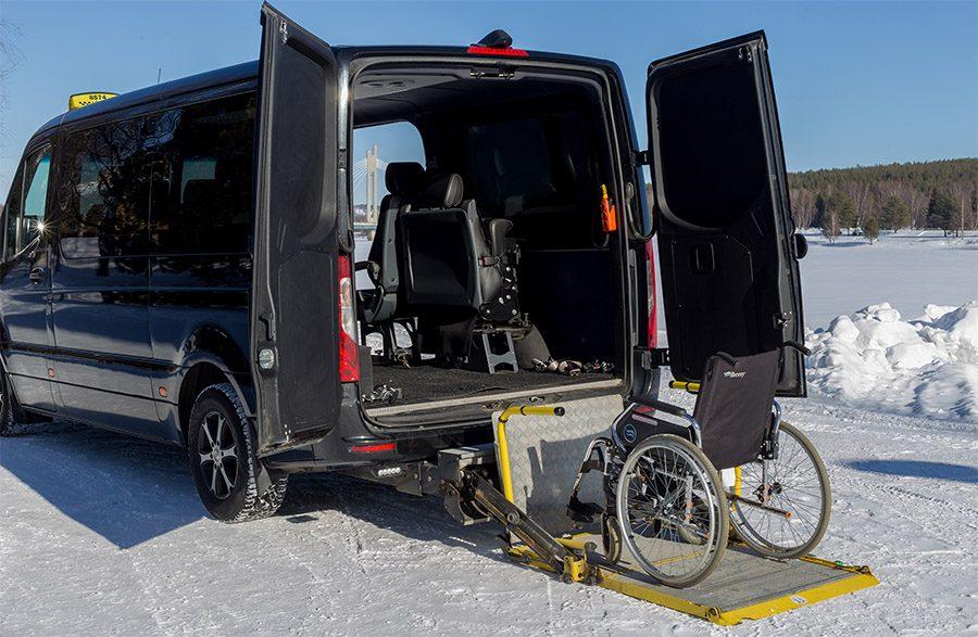 Vammaiskuljetukset